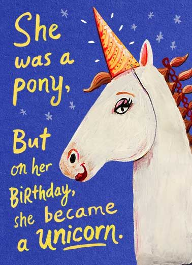Image Result For Birthday Cards 5 Year Old Girl With Horse Funny Birthday Cards Birthday Invitations Girl Boy Birthday Party Invitations