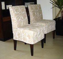 Hermosos forros para sillas | oficinas | Funda sillas ...