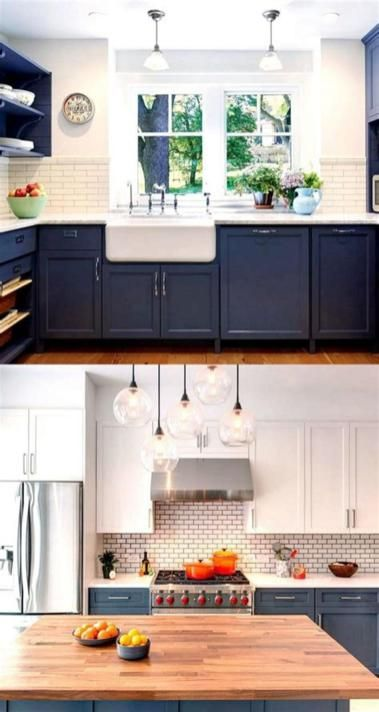 46 Most Popular Kitchen Color Schemes Trends 2019 5 Craft Home Ideas In 2020 Kitchen Cabinets Color Combination Kitchen Cabinet Colors Beautiful Kitchen Cabinets