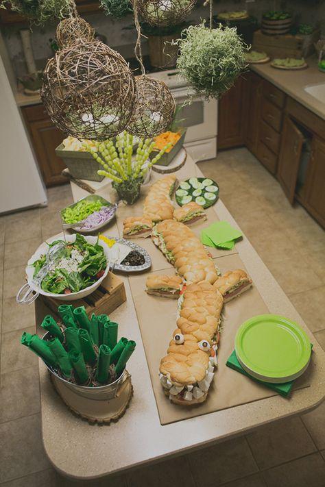 Everett's Alligator Themed First Birthday Party