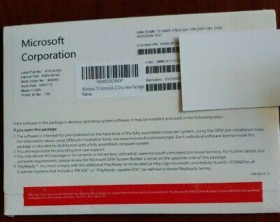 Ebay Link Ad Microsoft Windows 10 Home 64 Bit Full Version Dvd