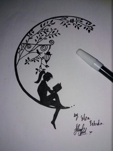 Art Sketches Ideas - Art Sketches Tumblr - My try 😉🎨  Kunstskizzen  skizzenbuch  artsketchesani