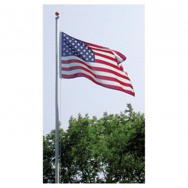 25 Ft Tall Flagpole High Quality Pole For Low Price Windstrong Thick 14 Gauge Aluminum 25 Ft Tall Sectional Flag Pole He Flag Pole Kits Flag Pole Flag Store