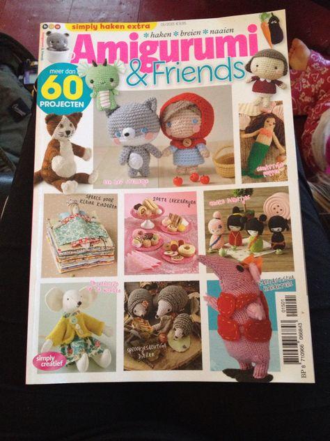 Simply Haken Extra Amigurumi Friends 12015 Patronenboeken En