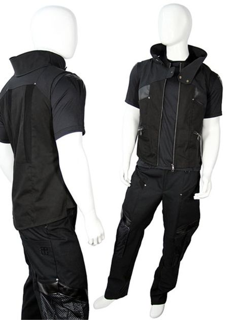 Cyberpunk Clothes, Cyberpunk Fashion, Anime Outfits, Cool Outfits, Fashion Outfits, Casual Male Outfits, Womens Fashion, Gothic Fashion, Steampunk Fashion