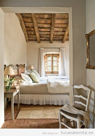 Como Decorar Una Casa De Campo Pequena Y Rustica Dormitorios