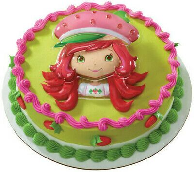 Surprising Details About New Strawberry Shortcake Cake Topper Layon Plac Cake Funny Birthday Cards Online Elaedamsfinfo