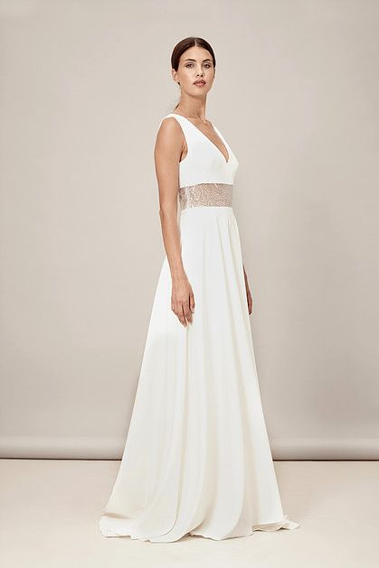 Modern Wedding Dress Veronique By Muscat Bridal Sold Exclusively At