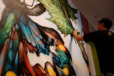 Artisti da strada B741e7a45b877cd292178012a9201460--street-artists-urban-landscape
