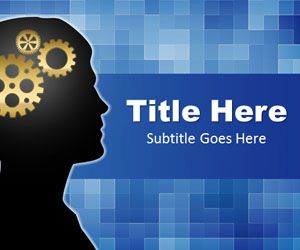 Brain Powerpoint Template Backgrounds