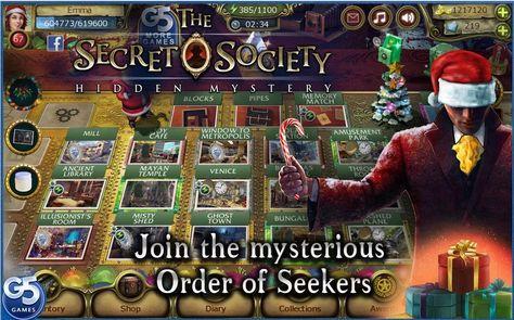 Hidden society game