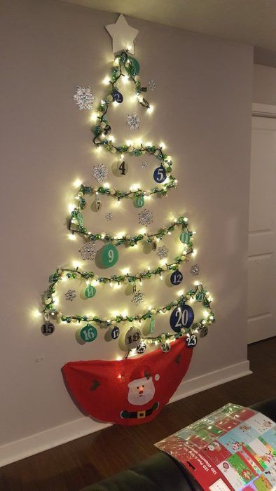 Decorate Your House With Holiday Lights Christmas Tree
