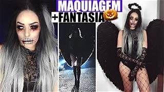 Maquiagem Anjo Da Noite Resultados Yahoo Search Da Busca De Imagens Anjos Da Noite Fantasias Halloween Fantasias
