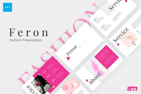 Feron Fashion Keynote Presentation Template