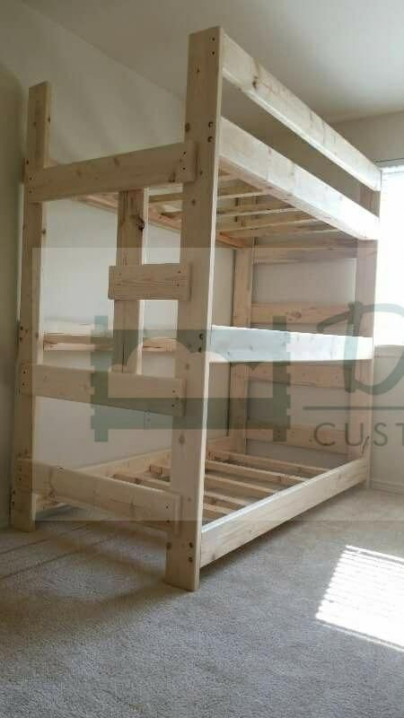 innovative design 158ee fc3aa Triple bunks for Sale in Portland, OR in 2019 | Bunk Beds ...