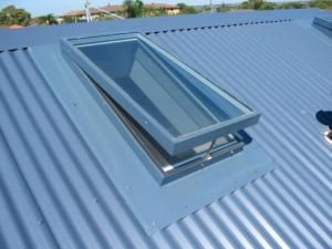Metal Roofing Colourbond Skylights In Fibreglass Glass