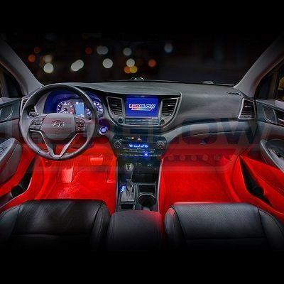 Led Car Interior Underdash Lighting Kit Gadgets Giftideas Interieurs De Voiture Voiture Deco Voiture
