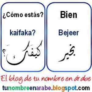 Como Se Dice En Arabe Gracias Gracias En Arabe Y Otras Palabras Basicas Arabes Clases De