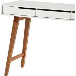 Schreibtisch Konsole In Weiss Buche 120 Cm Breit Topdesign Breit Buche Konsole Schminktisch Schreibtisch In 2020 Schreibtisch Spiegelkommode Computerschreibtisch