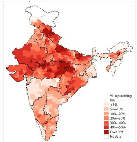 89% households in central & northern India practise untouchability: Study