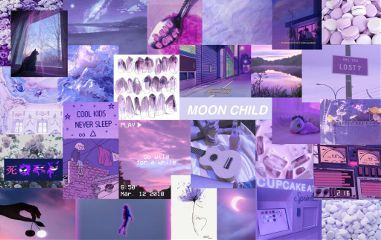 Cute Aesthetic Wallpapers For Laptop Purple