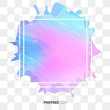 Simple Border Color Candy Frame Line Cute Rectangle Clipart Simple Border Hand Painted Border Png Transparent Clipart Image And Psd File For Free Download Desain Banner Stiker Desain