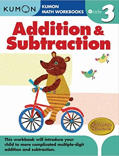 Grade 3 Addition Subtraction Kumon Math Workbooks In 2021 Kumon Math Math Workbook Addition And Subtraction Kumon math worksheets for grade 3