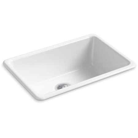 Kohler K 5708 Cast Iron Kitchen Sinks Single Basin Sink