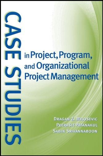 Case Studies in Project, Program, and Organizational Project Management - Default