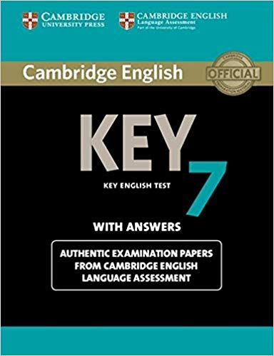 Scaricare Cambridge English key 7  Level A2  Student's book  With