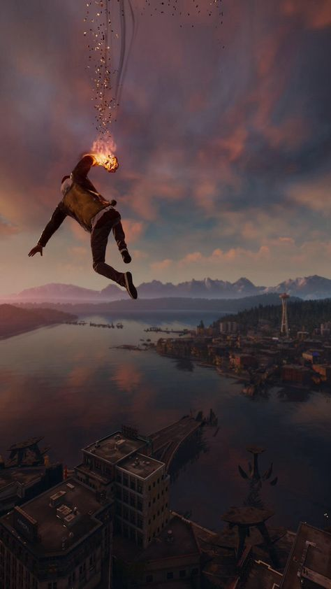 60 Marvelous Game Iphone Wallpapers For Gamers Infamous Second Son Dark Wallpaper Iphone Wallpaper Infamous second son iphone wallpaper