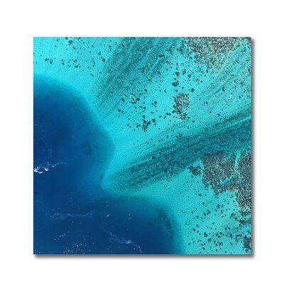 Decorumby Blue Ocean Unframed Photograph Print Blue Ocean Art Photography Photography Print