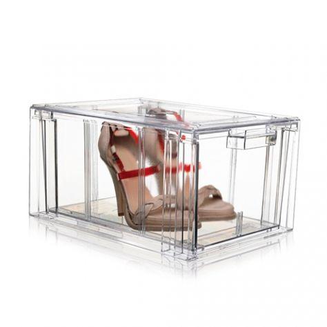 DESIGNDELICATESSEN - NoMess - Clear Shoe Box - opbevaring