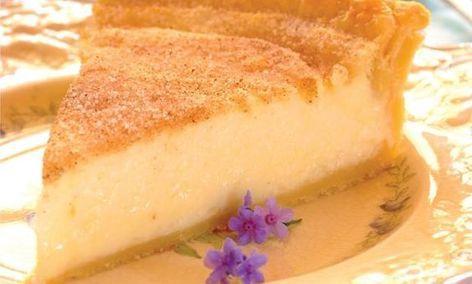 Baked Milk Tart Milk Tart Tart Recipes Recipes