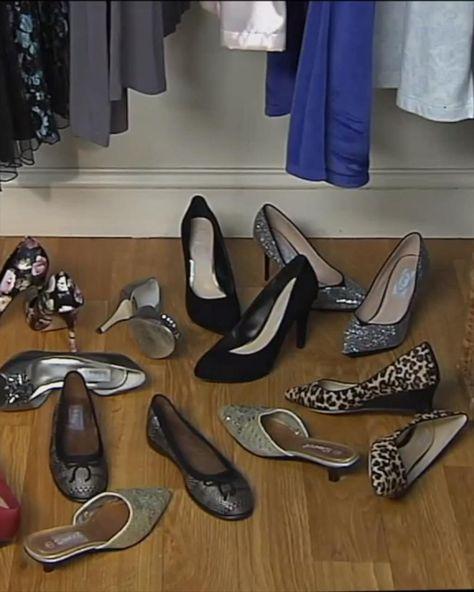 Zmniejsz ilość miejsca potrzebnego na twoje obuwie o połowę dzięki tej sprytnej sztuczce! Organizator do butów pozwala umieścić dwie pary butów w tej samej przestrzeni, w której normalnie byś zmieścił tylko jedną parę. Jednocześnie buty sa bezpieczne i nie brudzą innych butów.