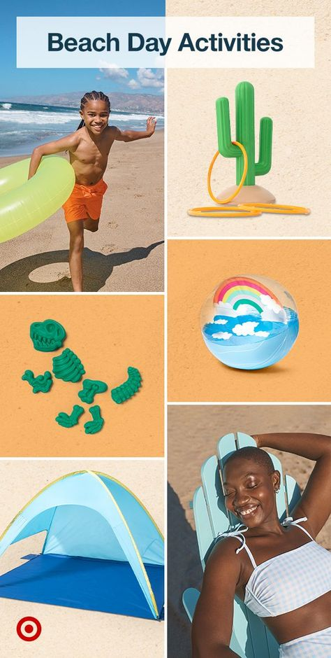 Make the most of beach day with fun family activities  toys that keep the littles busy while you soak up the sun.