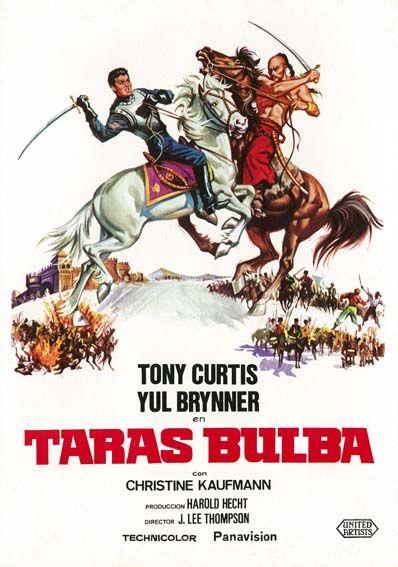 Taras Bulba 1962 C Esp Tt0056556 Old Movie Posters Movie Posters Movie Posters Vintage