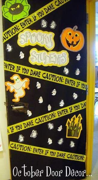 Scary Halloween Classroom Door 70 Super Ideas Halloween Classroom Decorations Halloween Classroom Door Halloween Classroom Door Decor