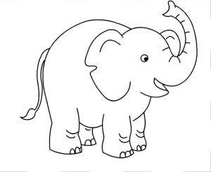Kostenlose Druckbare Elefanten Malvorlagen Fur Kinder Elefant Und Hase Malvorlagen Fur Kinder Elefant Ausmalbild