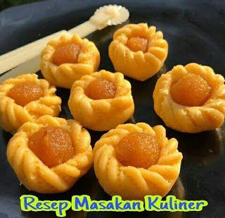 Resep Kue Nastar Bentuk Bunga Makanan Dan Minuman Nastar Resep Kue