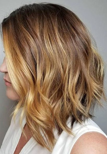Top 10 Most Hottest Warm Beige Blonde With Honey Balayage