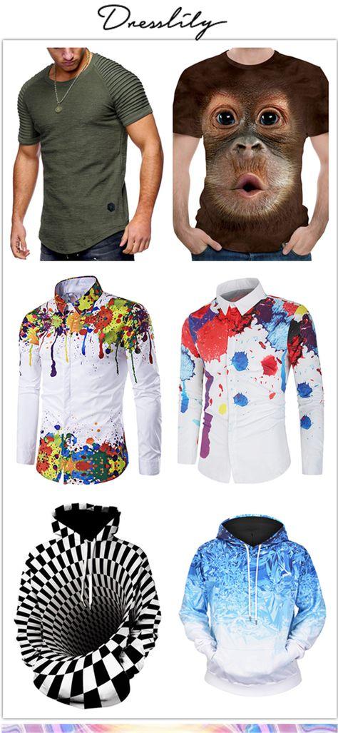 12% de réduction sur les commandes de plus de 33€ avec le code DL123. #dresslily #homme #chemise #ete