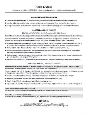 Shrm Hr Resume Sample 2 Karriere Pinterest Layouts Beste Shrm Hr
