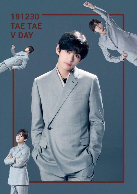 HappyTaehyungDay 💥 TaeTaeDay 💜
