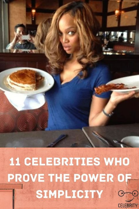 11 Celebrities Who Prove The Power Of Simplicity