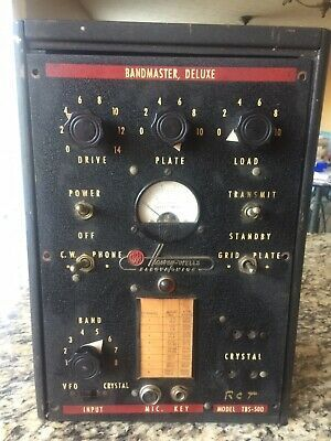 Ad Ebay Link Vintage 1940 S Harvey Wells Bandmaster Deluxe Tbs 50d Ham Radio Transmitter In 2020 Ham Radio Radio Communication Transmitter