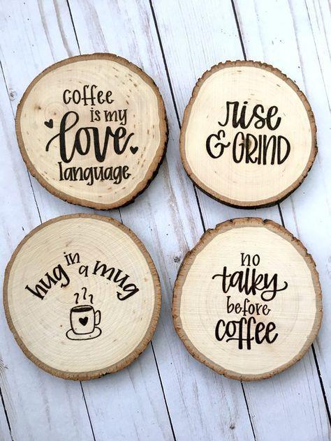 This Item Is Unavailable Etsy Wood Coasters Diy Wood Burning Art Coffee Coasters