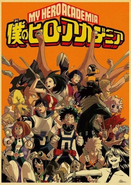 My Hero Academia Posters - T003 2
