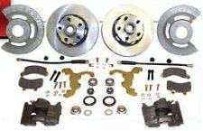 1964-73 Mustang Complete Front Disc Kit 6 cylinder 4 Lug or 5 Lug!