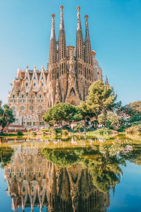 Here, we explore and present the one-of-a-kind style of Antoni Gaudi. Today, Gaudi architecture is synonymous with Modernisme, or Catalan Art Nouveau. Amazing Destinations, Travel Destinations, Barcelona Spain Travel, Spain Madrid, Places To Travel, Places To Visit, Voyage Europe, Travel Aesthetic, Travel Guides